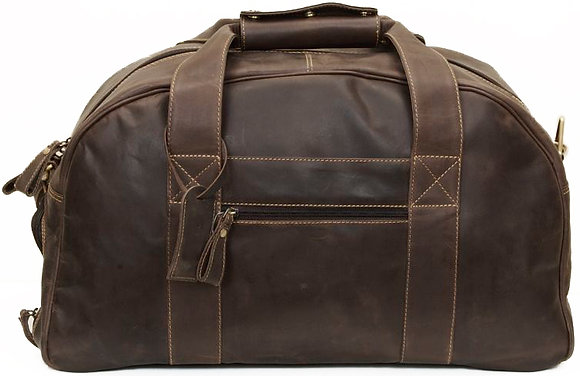 Hunter Leather Holdall