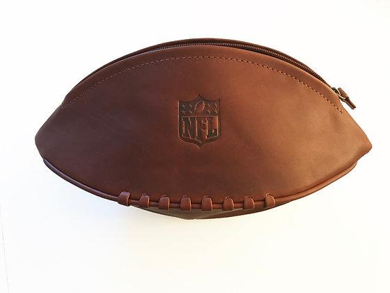 Tan VT Leather Washbag