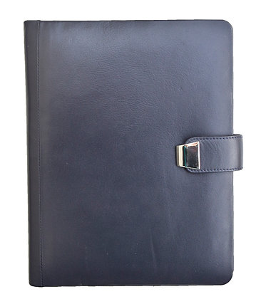 Nappa with Chrome Fittings Note Book