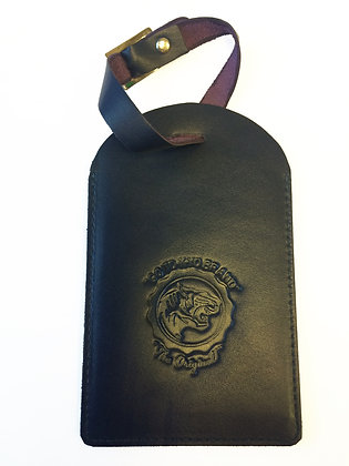 Nappa Luggage Tag