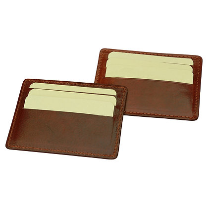 Soft Calfskin Leather Cardholder