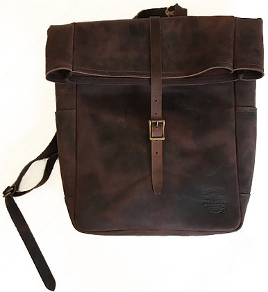 Hunter Leather Backpack