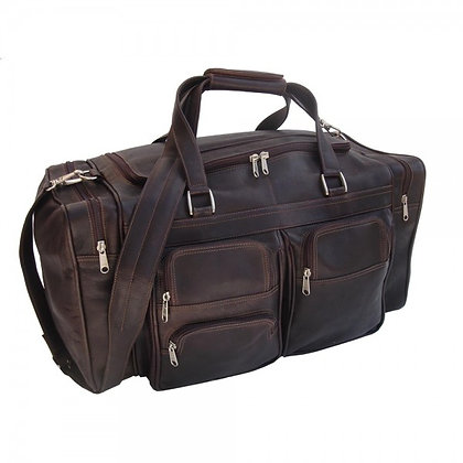VT Leather Holdall