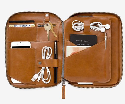 Vedge Tan Leather Tech Pack