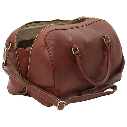 Calfskin leather Duffel Bag