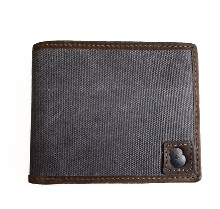 Hunter Trim and Canvas Wallet