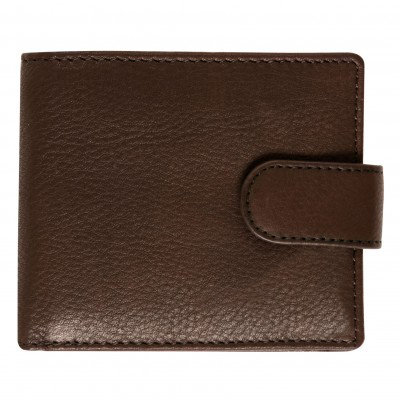Canvas & VT Leather Wallet