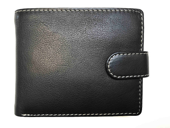 Nappa Bi-fold Wallet With Credit Card Section