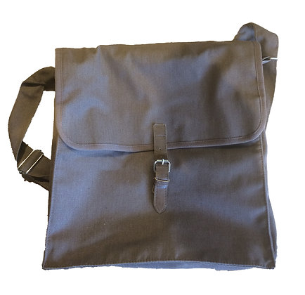 Full Canvas Satchel Bag