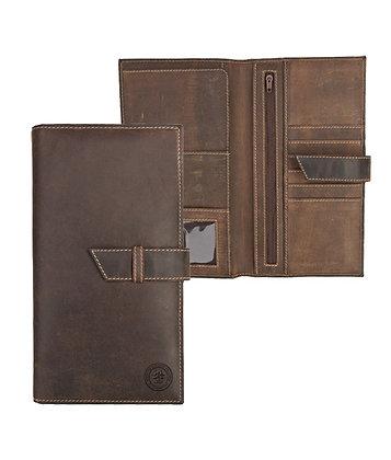 Hunter Leather Travel Wallet