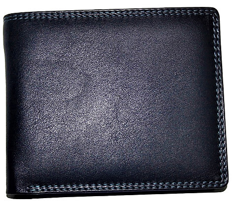Multi Coloured Wallet Nappa Leather