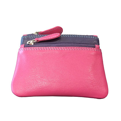 Multi Coloured Coin purse Nappa Leather