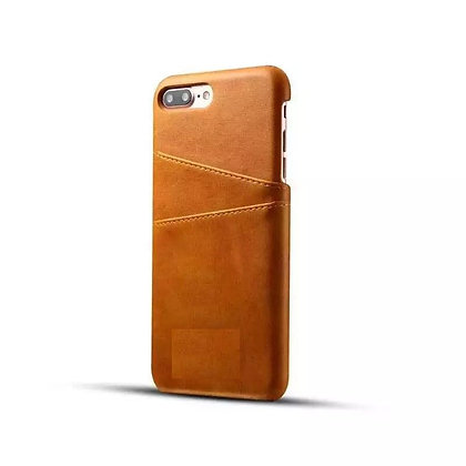 Nappa Leather Hard iPhone Case