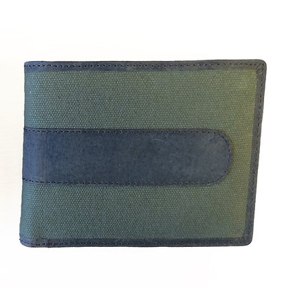 Canvas & Hunter Leather Wallet