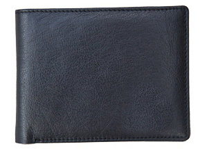 Black Nappa Bifold Wallet
