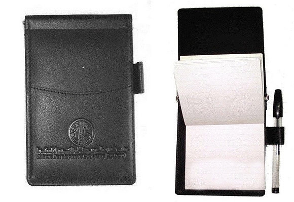Notepad in Nappa Leather