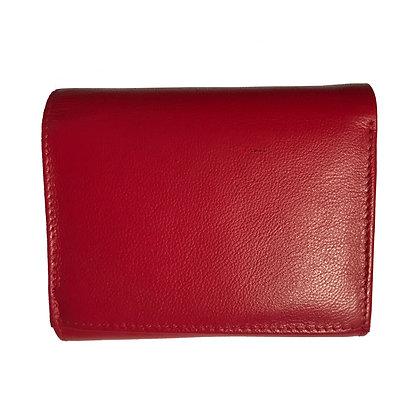 Trifold Purse Nappa Leather