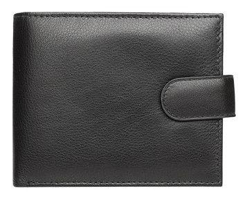 Black Nappa Leather Wallet BIL0003