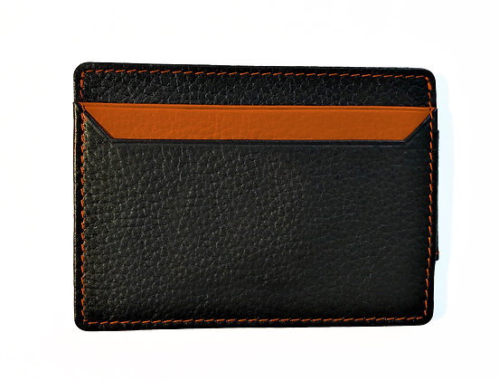 Business Card Wallet with Coloured Trim