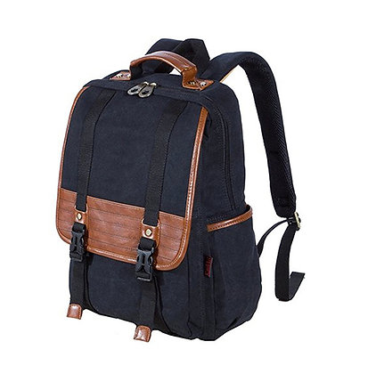 Canvas & VT Leather Backpack