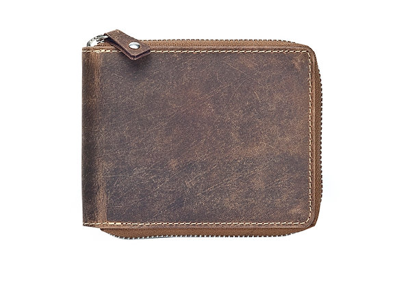 Hunter Leather Zip Around Wallet