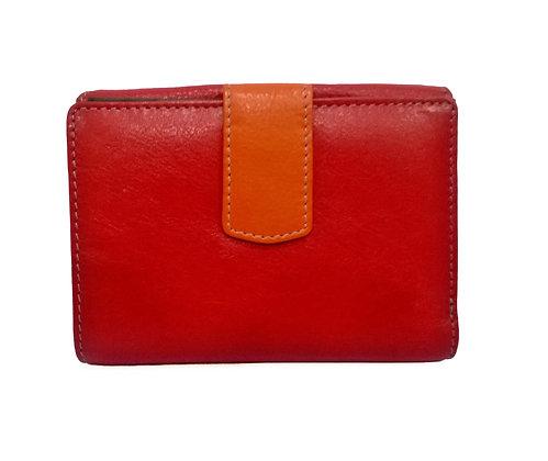 Multi Coloured Purse Nappa Leather