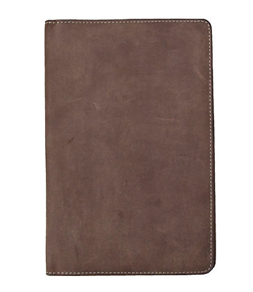 Hunter Leather Diary Cover