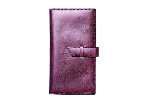 Italian VT Leather Passport Wallet