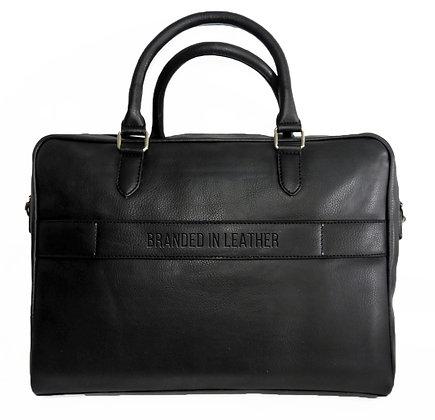 Leather Laptop/Organiser bag