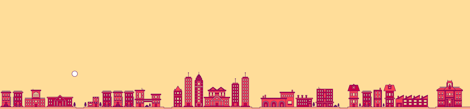 City in Red