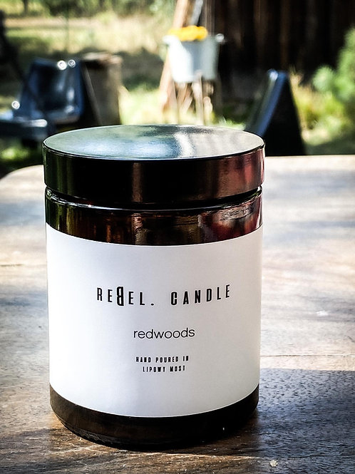 rebel.candle redwoods