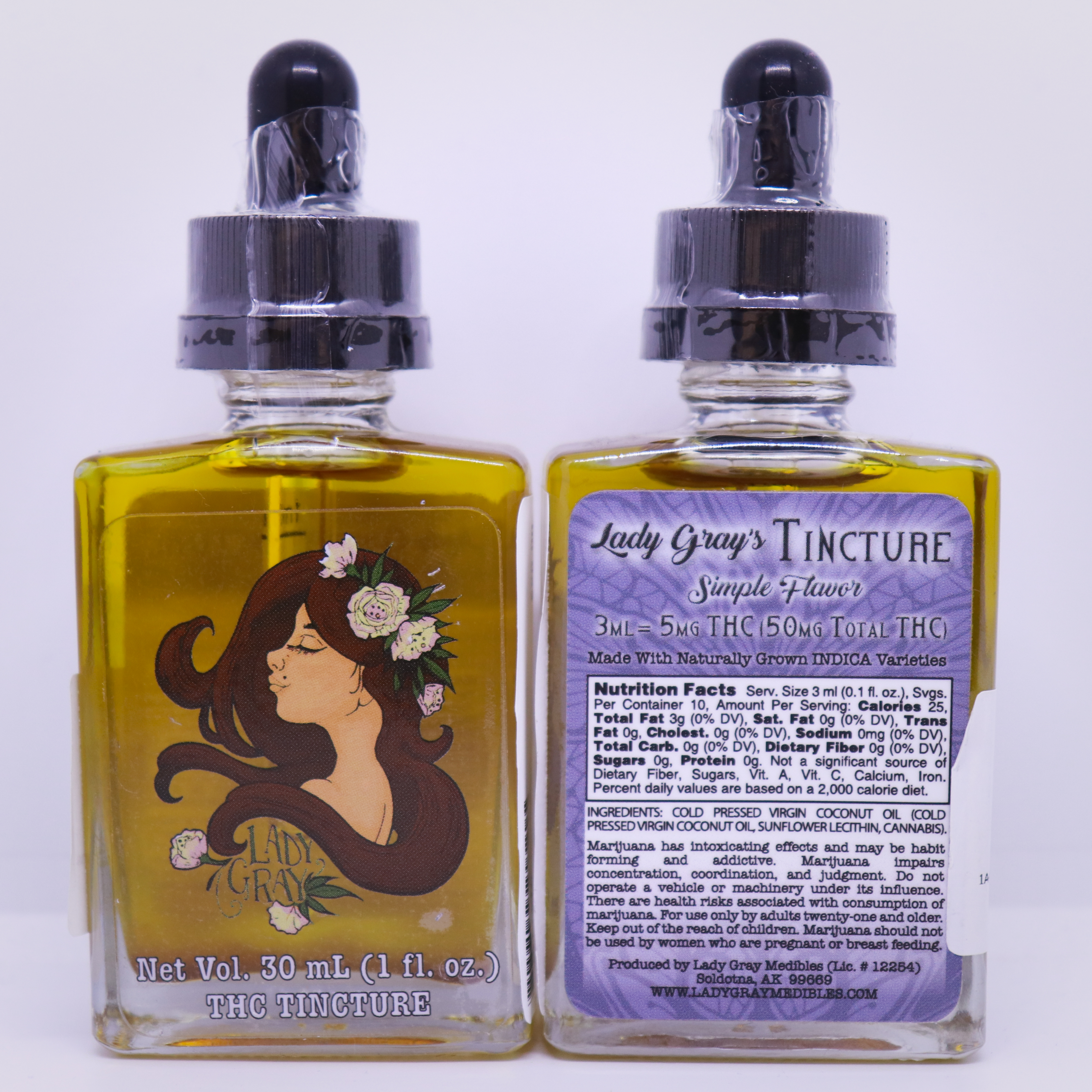 Lady Gray Indica Tincture