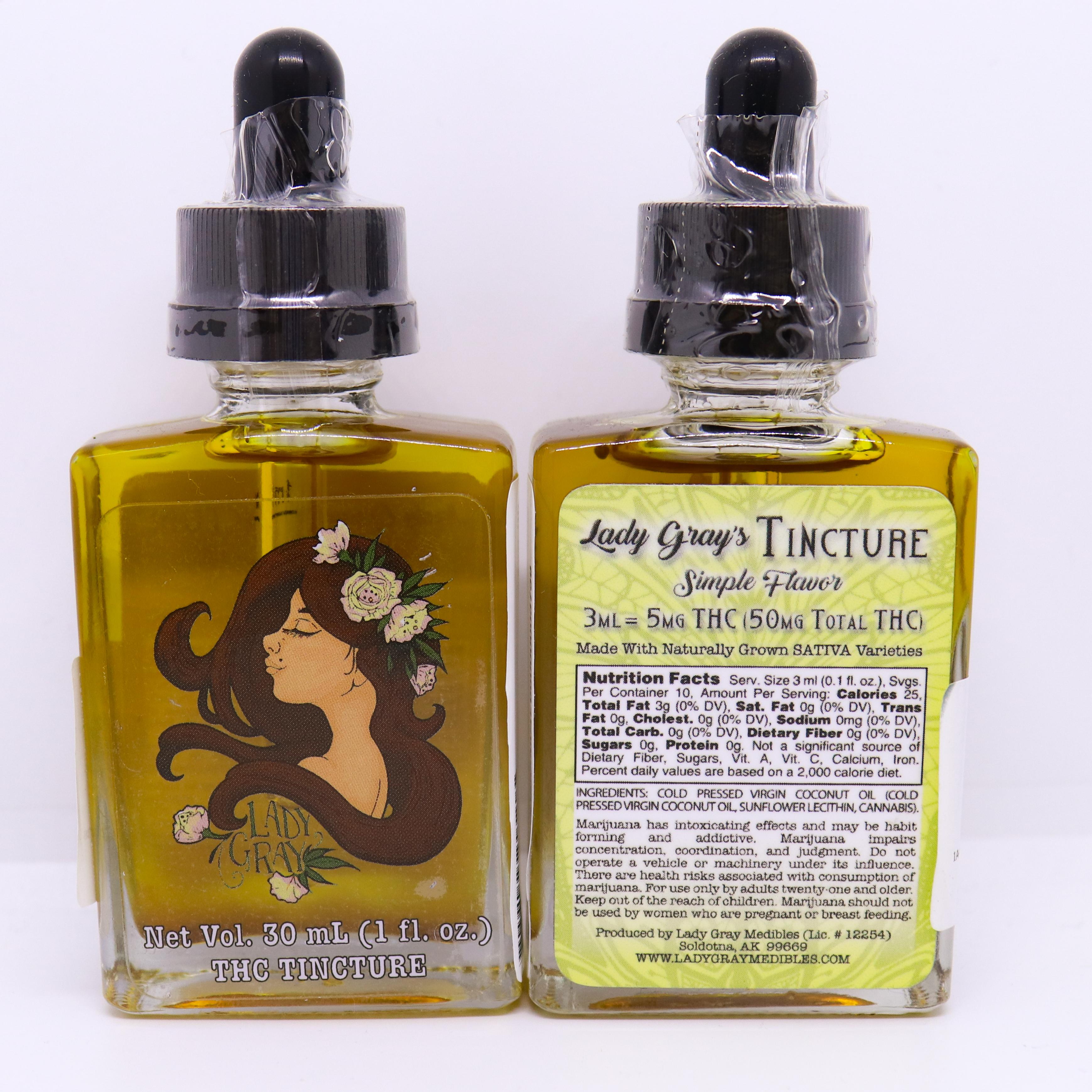 Lady Gray Sativa Tincture