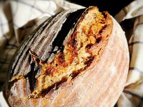 Vyzkoušejte domácí chléb bez hnětení