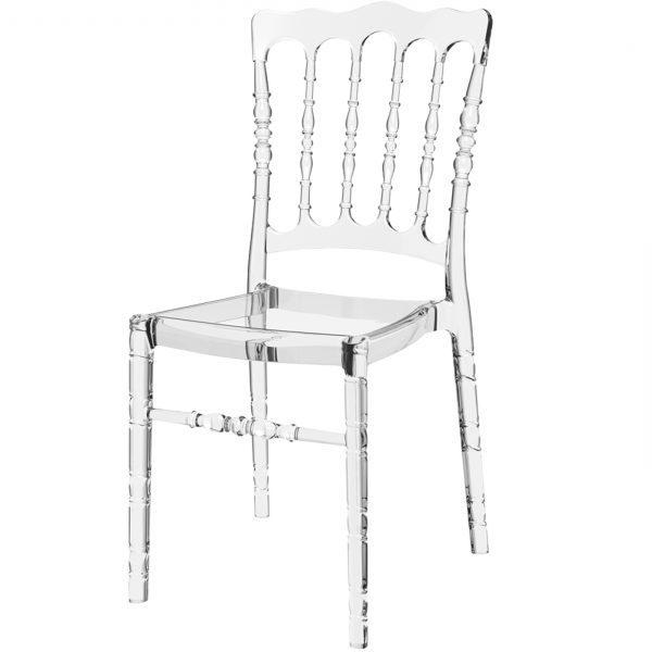 Permatomų kėdžių nuoma