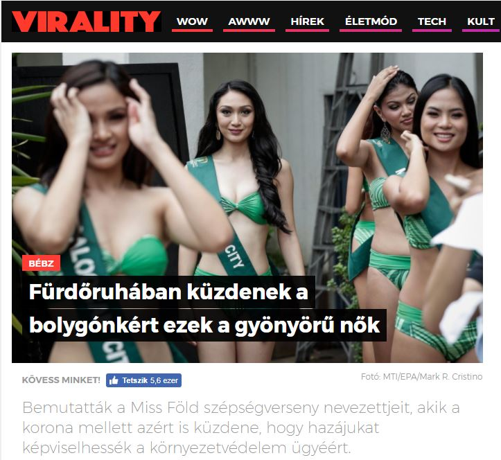 2017_07_06 Miss Earth Virality
