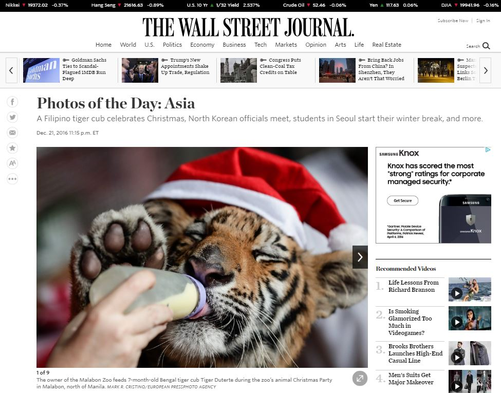 2016_12_21 Malabon The Wall Street Journal