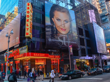 My Work In Time Square NY!