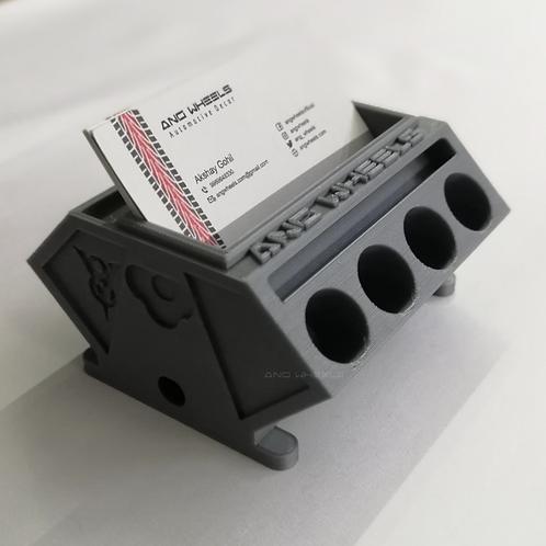 3D Printed V8 Engine Block