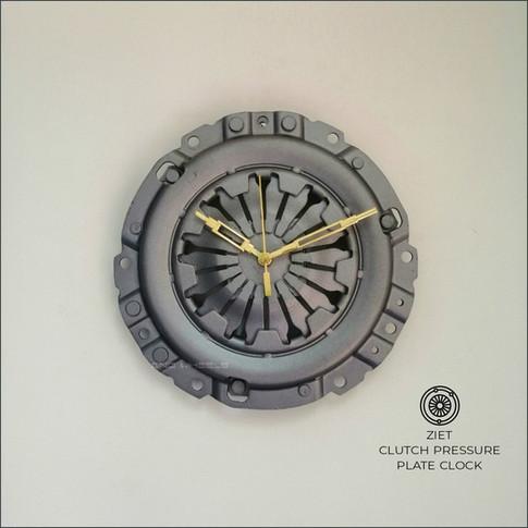 Clutch ressure plate clock