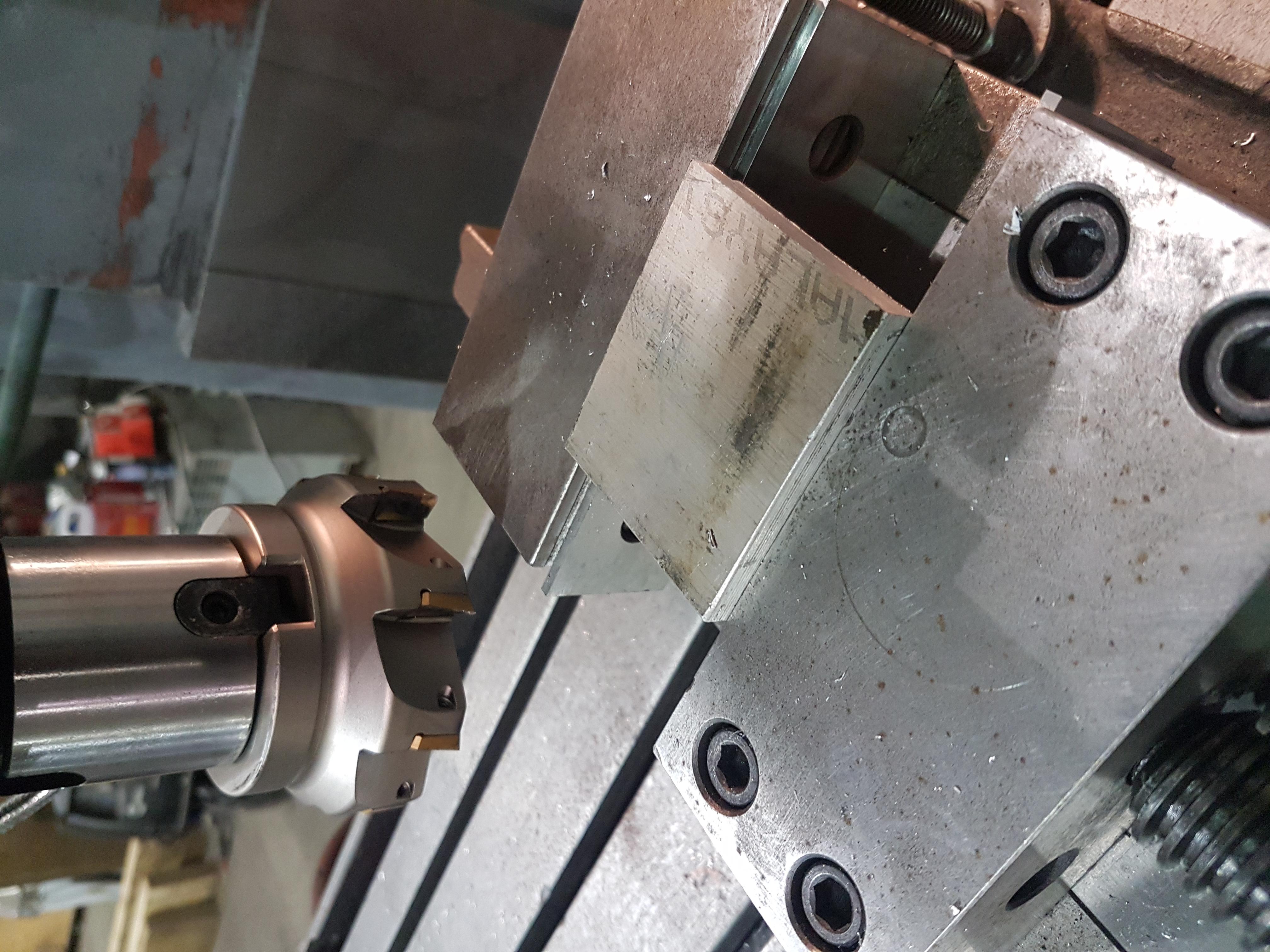 Aluminum bracket
