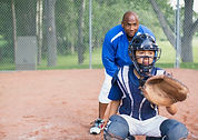 Catcher baseball