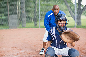 Catcher baseball
