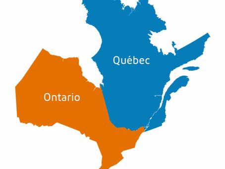 Construction : l'entente Québec-Ontario