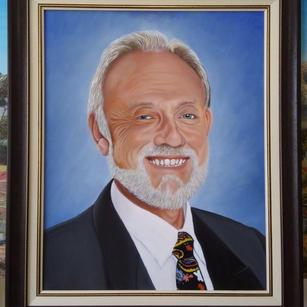 School Principal Portrait