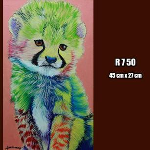 Rainbow Cheetah (SOLD)