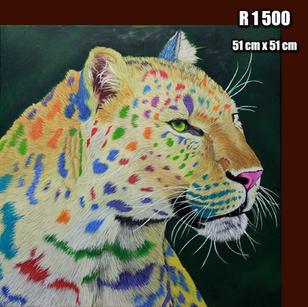Rainbow Leopard (SOLD)