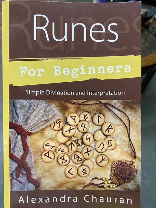 Runes for Beginners by Alexandra Chauran