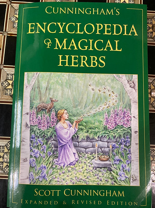 Cunningham's Encyclopedia of Magical Herbs by Scott Cunningham (Expanded)