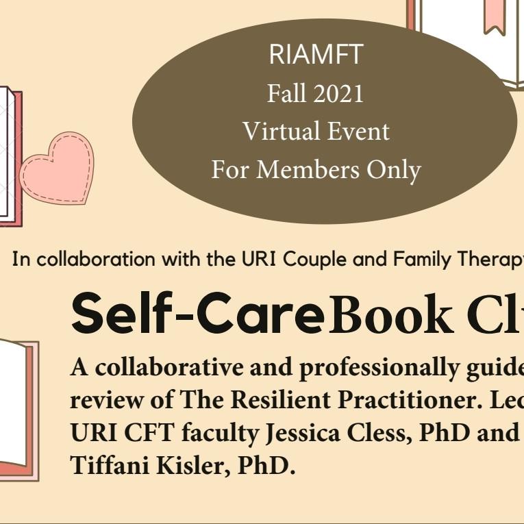 Fall Virtual Self-Care Book Club 6 CEUs